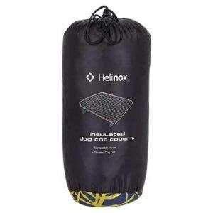 Dog camping ideas - Helinox Dog Cot Warmer