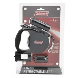 Camping with your dog - COLEMAN 3-in-1 Retractable Pet Leash