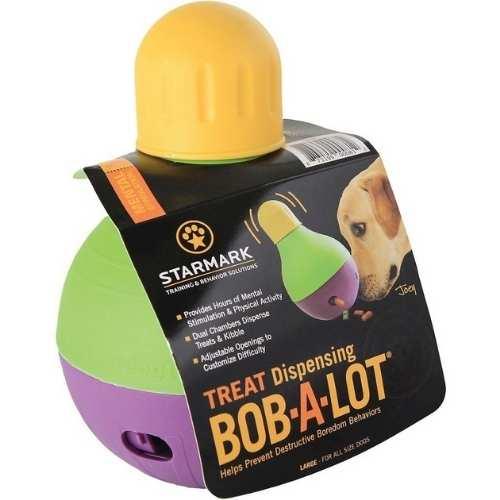 Bob-A-Lot Multi Chambered Interactive Dog Toy