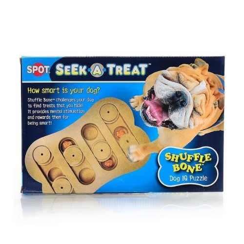 Seek-A-Treat Shuffle Bone Iq Puzzle