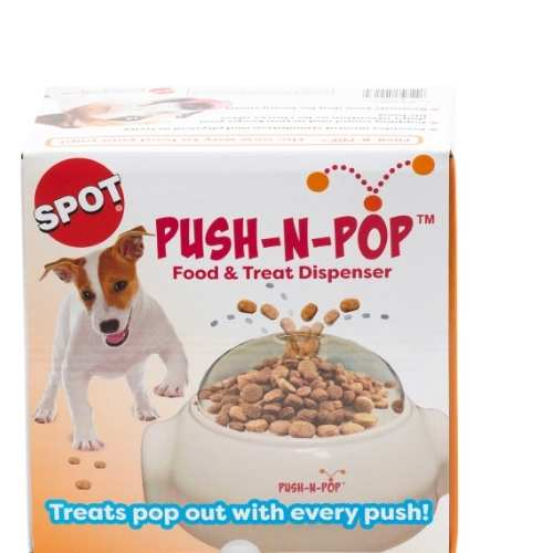 ETHICAL PET Push 'N Pop Treat & Food Dispenser