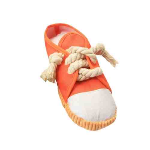 qing niao Funny Toy Sneakers Shoes Bite Sound Toy for Puppy