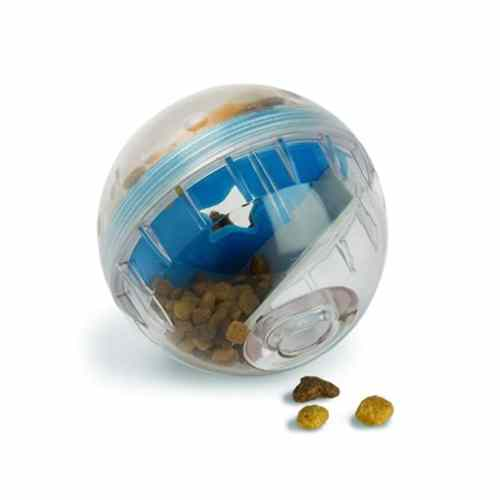 Pet Zone IQ Treat Ball – Adjustable Dog Treat Dog Ball and Treat Dispensing Dog Toys