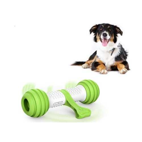 PETGEEK Automatic Dog Bone Toy, Interactive Dog Chase Toy