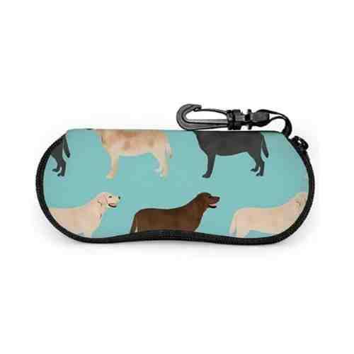 antkondnm Cute Labradors Yellow Chocolate Black Lab Pet Dogs Sunglasses