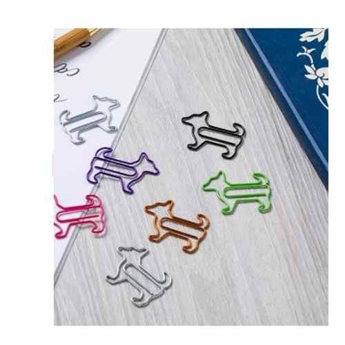 60Pcs Cute Dog and Bones Paper Clip