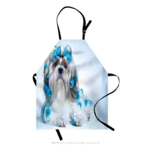 Funny Shih Tzu Dog Lover Apron