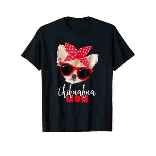 Chihuahua Mom Love T-Shirt