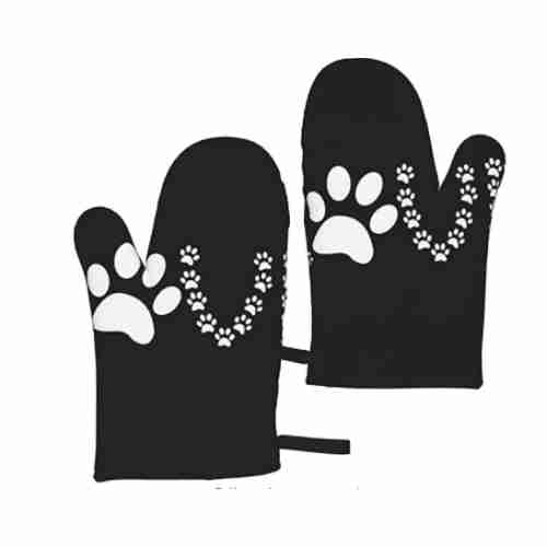 Lover Dog Paw Oven Mitts