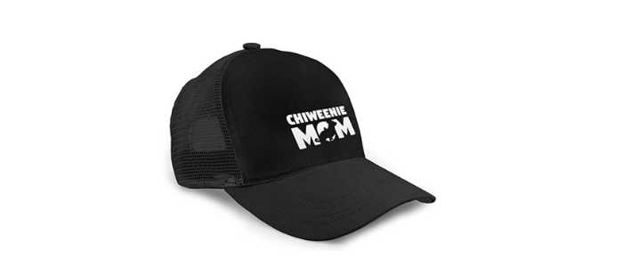 Chihuahua and Chiweenie Gifts For Weiner Dog Lovers - Chiweenie Mom Trucker Hat