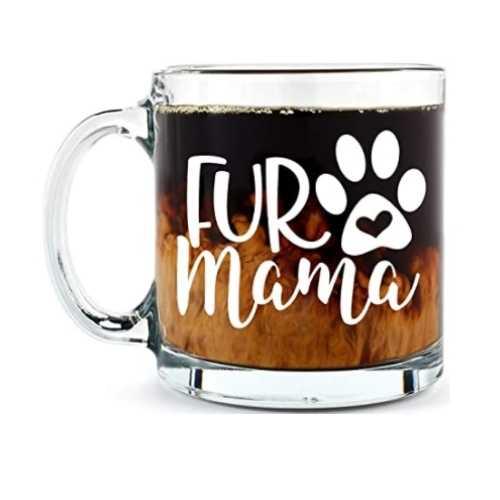 Fur Mama Cute Dog Mom Mug