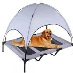 Elevated Pet Cot with Canopy