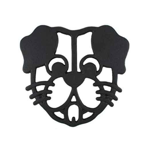 Dog Black Cast Iron