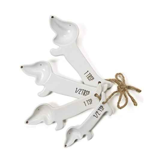 Dog Measuring Spoons for kitchen