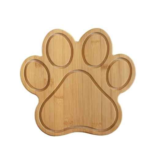 Totally Bamboo Paw Shaped Cutting Board