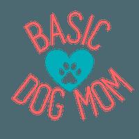Basic Dog Mom Logo