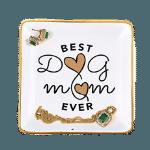 Best Dog Mom Ever Trinket Dish