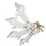 Ceramic Dog Measuring Spoons
