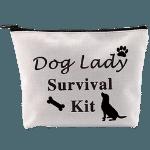 Dog Lady Survival Kit Makeup Bag