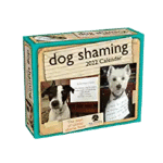Dog Shaming Daily Calendar 2022