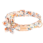 Floral Dog Collar With Flower