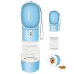Multifunctional Water and Food Travel Container